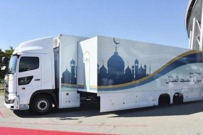 """Masjid Bergerak, """"Omotenashi"""" Jepang untuk Umat Islam Selama Olimpiade 2020"""