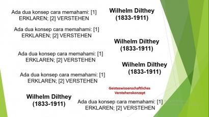 Punggawa Dilthey, Penemu Ilmu Cara Memahami [14]