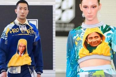 """Melihat """"Aksi"""" Jokowi dan Susi Pudjiastuti di New York Fashion Week 2020"""