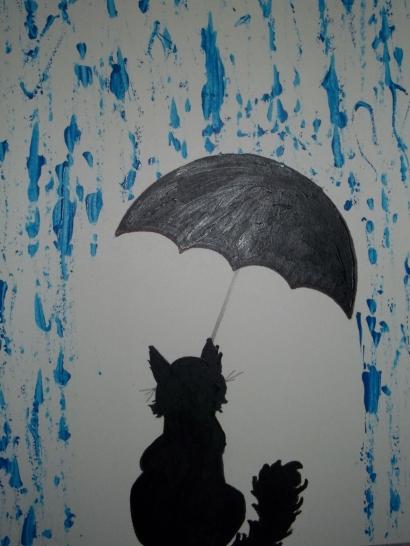 Cerpen   Hujan Deras dan Kucing yang Kedinginan