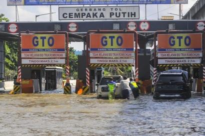 Banjir Jakarta   Indonesia Butuh Tobat Nasional Akibat Dosa Korupsi