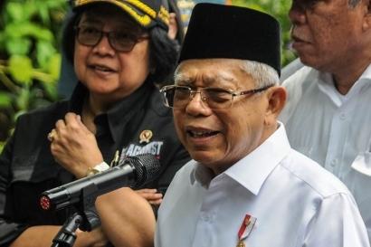 Ma'ruf Amin: Qunut Jadi Doa Penangkal Virus Corona Masuk Indonesia
