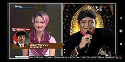 Didi Kempot Kumpulkan Donasi Rp 4,8 Miliar dan Bikin Ambyar Jokowi