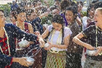 April 2020 Tanpa Songkran Festival di Thailand