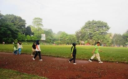 Puasa Berjalan dan Olahraga pun Tidak Ketinggalan