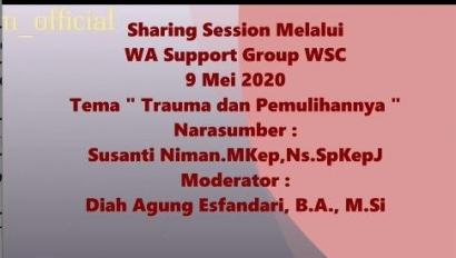 WA Support Group WSC, Curhat Tanpa Sekat Korban Scammer