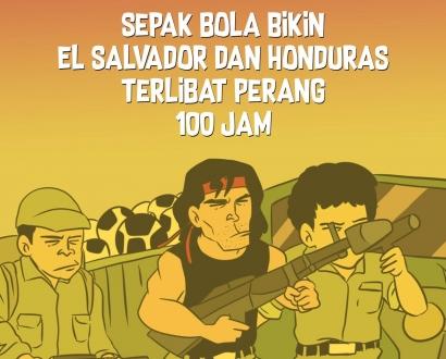 Ketika Sepak Bola Memicu Terjadinya Perang Antara Honduras dan El Salvador