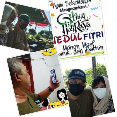 Lebaran Penuh Kesan, dari Nyekar ke Makam hingga Kumpul Keluarga Melalui Layar Digital