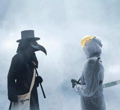 Black Death dan Antitesis Kebijakan New Normal