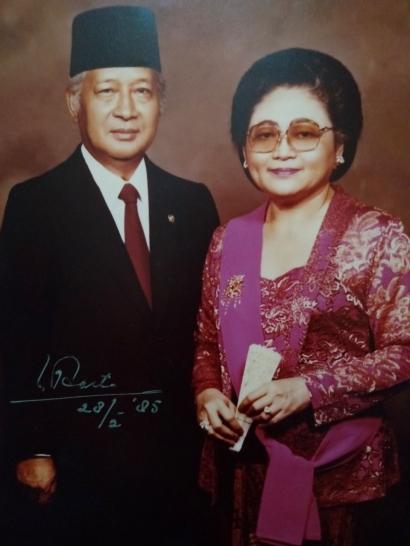 Presiden Soeharto Membalas Surat Saya