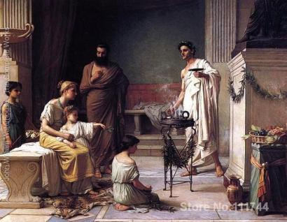 Kuil Aesculap, Rumah Sakit Yunani Kuno