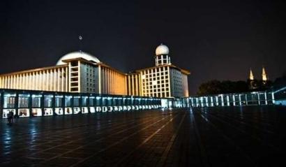 Abai Rasa Aman di Masjid