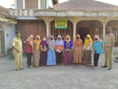 Mahasiswa KKN UNS Ajak Masyarakat Dusun Soka Kembangkan Pekarangan Pangan Lestari
