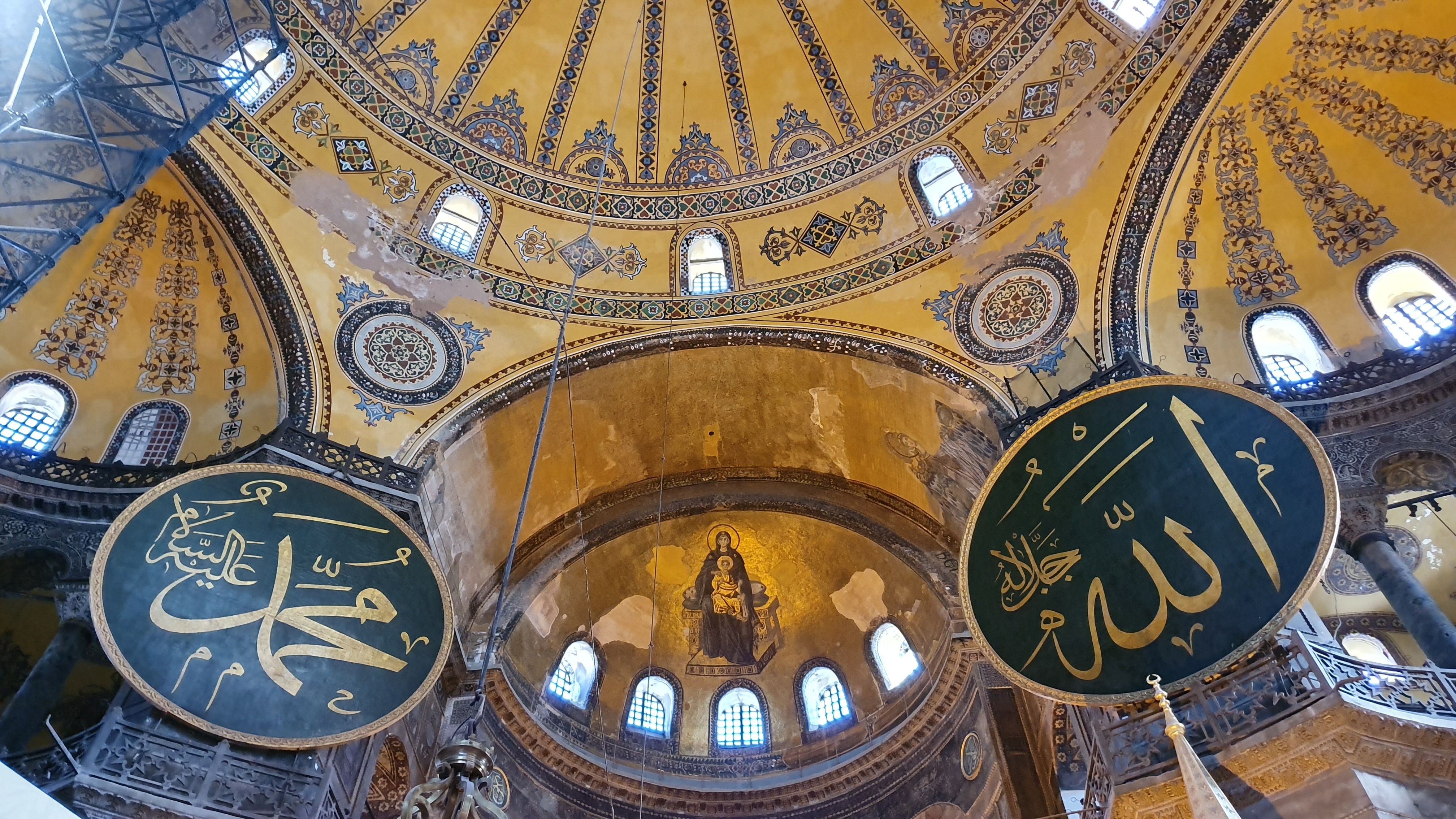 Dibalik Keindahan Hagia Sophia, Ada Status Politik Yang Memanas