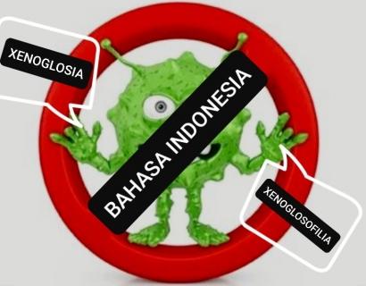 Mengenal Xenoglosia dan Xenoglosofilia, Penyakit Kebahasaan Indonesia