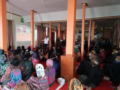 Sosialisasi Pencegahan Penyebaran Covid-19 di Desa Ngadas, Malang