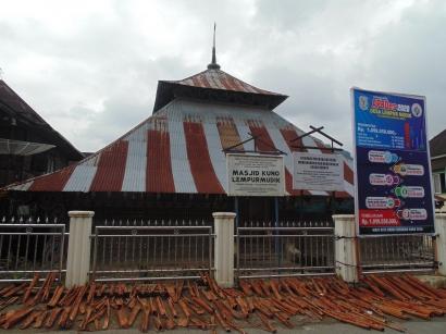 Wisata Religi ke Masjid Kuno Lempur Mudik