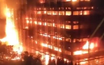 Menyoal Kebakaran Gedung Kejaksaan RI