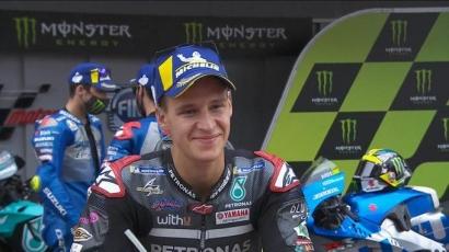Tampil Bagus di MotoGP Catalunya, Apakah Quartararo Mulai Pikirkan Juara Dunia?