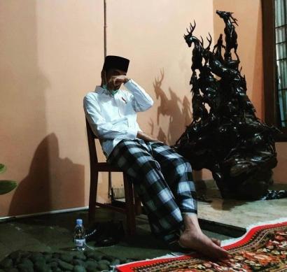 Bapak Jokowi Jangan Menangis