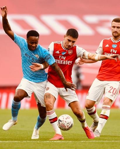Arsenal Vs Man City Melanjutkan Tren Positif The Gunners atau Awal Kebangkitan The Citizens