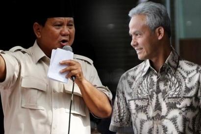 Prabowo Masih Perkasa, Ganjar Pranowo Bikin Dilema PDIP