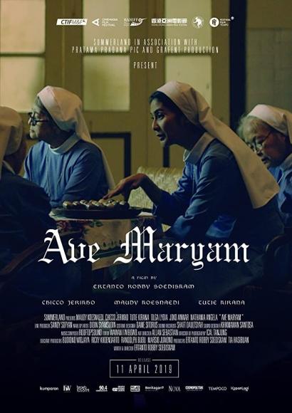 Kegundahan Hati Memilih Cinta pada Tuhan atau Cinta pada Pastor dalam Film Ave Maryam (2018)