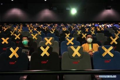 Mengunjungi Bioskop yang Kembali Dibuka, Begini Situasinya