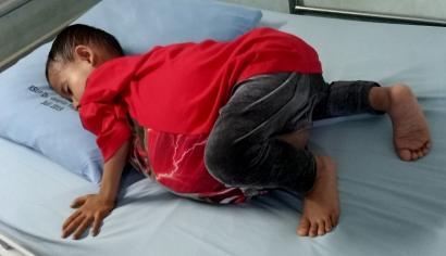 Bertahan 6 Tahun dengan Perut yang Besar, Kondisi Zain Kini Semakin Membaik