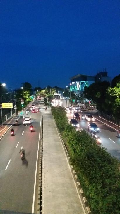Malam di Sudut Kota Pusat Jakarta