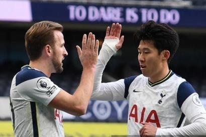 Senyum Jose Mourinho dan 100 Gol Son Heung-Min untuk Tottenham Hotspur