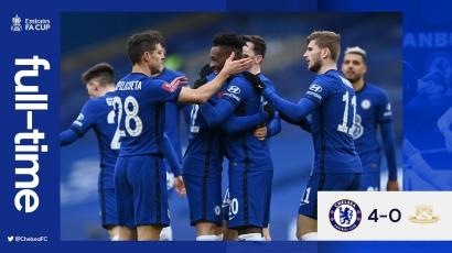 Chelsea Pesta Gol Lawan Tim Kasta Keempat Liga Inggris