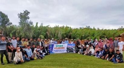 Dalam Studi Komparatif, Desa Wisata Kubu Gadang Jalin Kerjasama dengan Green Talao Park