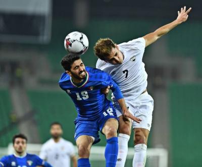 Irak menang 2-1 atas Kuwait dalam pertandingan persahabatan