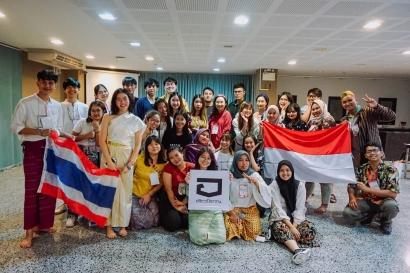 Pertukaran Budaya Antar 5 Negara di Negeri Seribu Pagoda