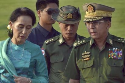 Kudeta Militer dan Menjauhnya Demokrasi di Myanmar