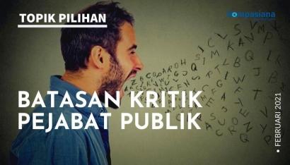 Batasan Kritik Pejabat Publik