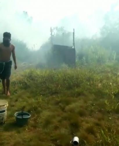 Ampun Bang Jago, Melihat Semangat Api di Lahan Gambut Daerah Kami
