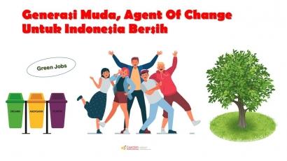 Generasi Muda, Agent of Change untuk Indonesia Bersih