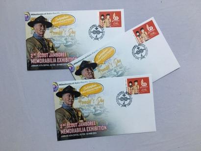 Hari Baden-Powell, Terbit Benda Filateli Tema Pramuka