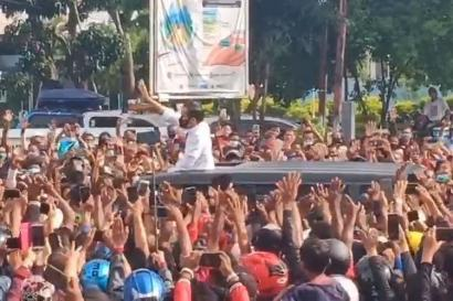Kerumunan Jokowi
