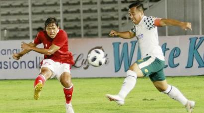 Timnas Indonesia U-23 Ungguli Tira Persikabo 2-0