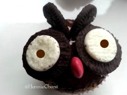 "Lezatnya ""Si Burung Hantu"" dalam Balutan Cupcake Oreo"
