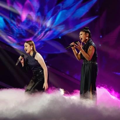 """Duet """"Cinta"""" Rimar-Anggi Paling Spektakuler di Top Indonesian Idol 2021"""