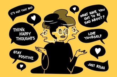 Toxic Positivity, Memaksa Berpikir Positif Bukan Solusi Terbaik