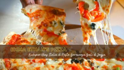 Emma Ethan's Pizza, Kudapan Khas Italia di Resto Bernuansa Bali di Jogja