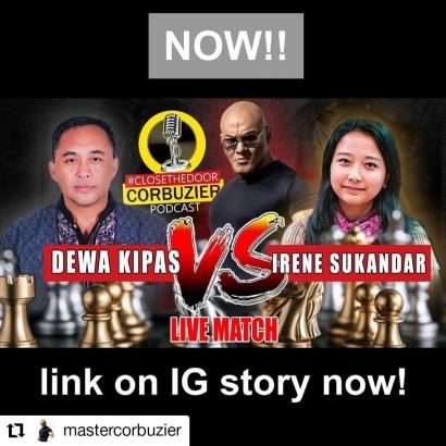 Dewa Kipas Vs Grand Master Irene Sukandar