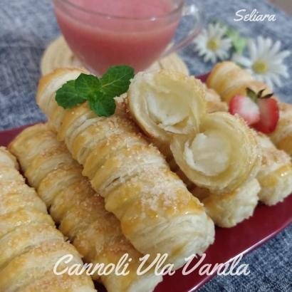 Resep Cannoli dengan Vla Vanila