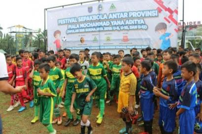 Festival Sepak Bola Antar Provinsi 2021 Piala Mochammad Yana Aditya Siap Bergulir