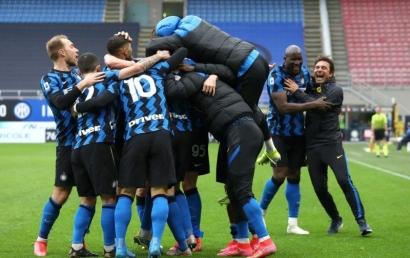 Kalahkan Cagliari, Inter Milan Semakin Kokoh di Puncak Klasemen Seria A